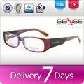 de espesor marco lenscrafters gafas gafas de plástico rojo gafas
