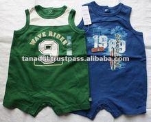 New order for summer baby boy sleeveless bodysuit 2012