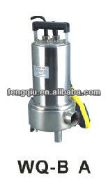 submersible stainless steel pump WQ-0.75B dc submersible price pumps