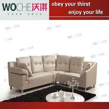 franklin furniture leather sofa simple sofa living room furniture (WQ6870)