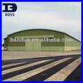 cúpula de luz de techo de acero hangar