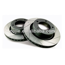 Grooved Brake Disc for Vehicle