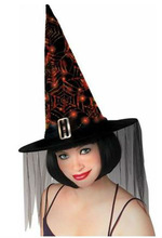 Webs Witch Women's Hat Dressing UP