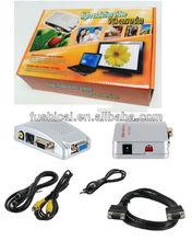 PC VGA TO TV VIDEO converter ---VGA TO RCA