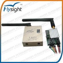 026 TX5802+RC306 Professional Wireless AV Transmitter and Receiver Audio Video AV TX/RX Kit for RC Boat