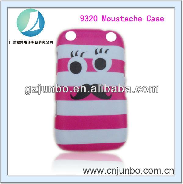Wholesale For BlackBerry Bold 9320 Design Case Moustache