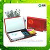 multifunction plastic pen holder with memo pad holder