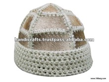 CAP EXCLUSIVE IN WOOL AND COW HAIR (CONSULT DESIGNS)