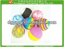 wholesale multi-color fashional eva foam toy ball
