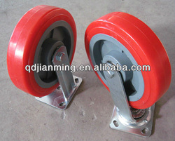 solid wheel,casterwheel rubber wheel