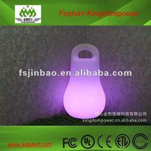 Recarregável lâmpada led portátil / brilhante bola forma lâmpada