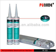 PU821 is low modulus one component polyurethane construction joints concrete silicone sealant for stone