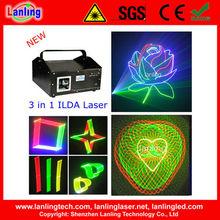 3 in 1 RGB Lazer Laser Show System