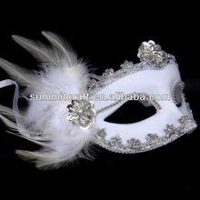 Custom wholesale white venetian masks