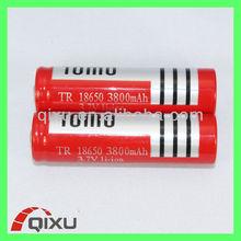 Hot sale li-ion battery pack 3.7v 18650 3800mAh