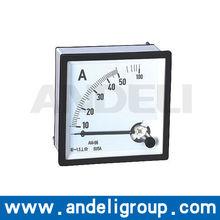 AC analog voltmeter AC Amp Panel Meter