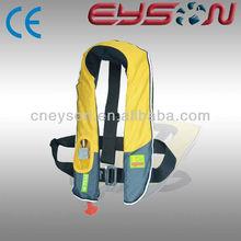 Velcro CE/CCS solas reflectors nylon/TPU personal protection inflatable air marine life jacket