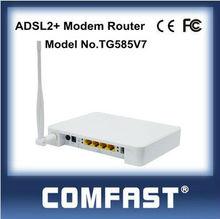 4 LAN ports Thomson 54Mbps ADSL2+ Modem Router COMFAST TG585V7