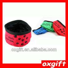 OXGIFT folding pet water bowl