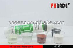 Popular high temperature silicone adhesive for electronic/clear silicone silicone as adhesive