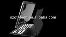 Fashion Design! Bluetooth keyboard leather case for iPad Mini