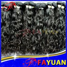 Cheap Cambodian virgin hair weaves natural color hair pieces