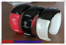 Charming bluetooth bracelet caller ID display mp3 player