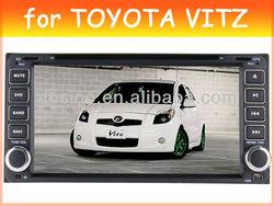 car dvd player for TOYOTA VITZ / AVANZA 2003-2010 car radio car audio with gps navigation