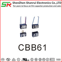AC motor run capacitor cbb61 ceiling fan components