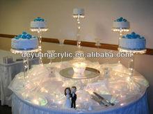 Clear/Custom Acrylic Cake Stand