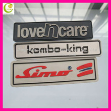 Welcome personalized silicone rubber label/logo/badge,accessories for garment industry