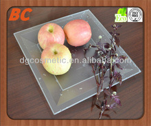 disposable plastic fruit tray