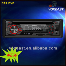New Fixed panel Car DVD player with rear Aux input
