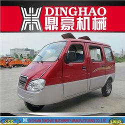 Dinghao Huju Enclosed three wheel mini car/tricycle tuk tuk for sale