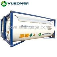 high purty refrigerant gas r410a tank