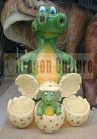 Cute cartoon dinosaur characters for advertising