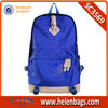 detachable trapezoid skull school bag