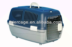 plastic pet travelling cage dog carrier cage
