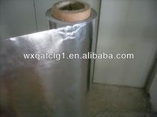 Heat treated Aluminum foil rubber coated fabric,laminate wall covering
