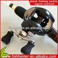 6.3:1 bait casting carrete baratos carretes de pesca