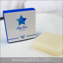 Disposable hoel amenities soap