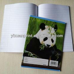 cute exercise book design