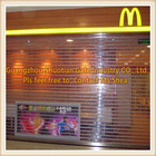 fashionable used commercial glass entry doors automatic