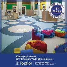 kindergarten commercial flooring for children playing