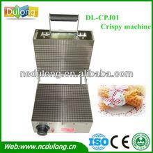 Dl-cpj01 rollo de huevo de la máquina contenedor para la fabricación de helado crujiente