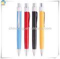 4 لون فوق الكرة المعدنية القلم مع مقطع