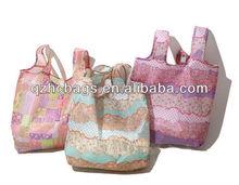 Customized logo printed shopping bag/foldable shopping bag/promotion bag