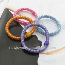 BHJ001 Korea hair accessories multicolor plain elastic hair band