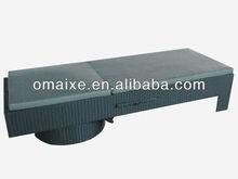 water-proof PE rattan revolving bed of garden furniture taste comfortable leisure life