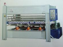 hydraulic hot press for wooden door